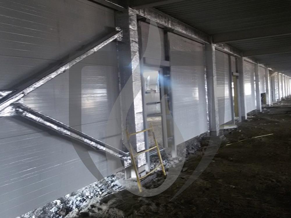 Конструктивная огнезащитная обработка металлических конструкций