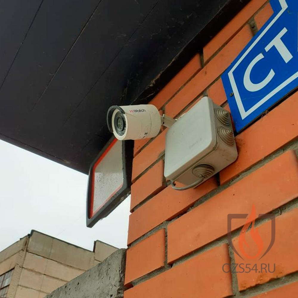 Монтаж и обслуживание системы видеонаблюдения