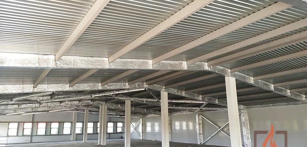 Огнезащитная обработка металлоконструкций по второй степени огнестойкости здания